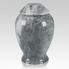 Grey Classica Marble Cremation Urn