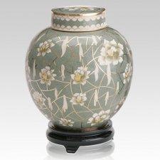 Pear Blossom Companion Cremation Urn