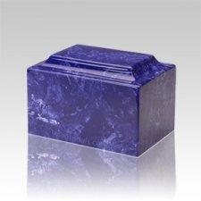 Cobalt Marble Medium Urn