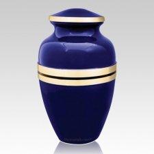 Cobalt Cremation Urn