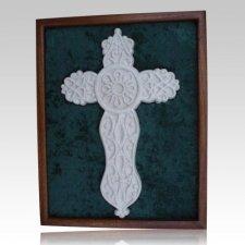 Cross Cremation Ash Keepsake with Case