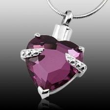 Purple Heart Cremation Jewelry