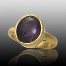 Round Cremation Ring