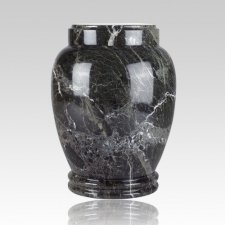 Green Marble Small Cremation Urn