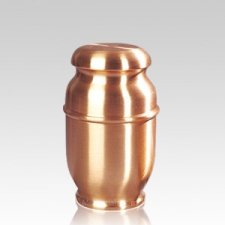 Spun Copper Medium Cremation Urn