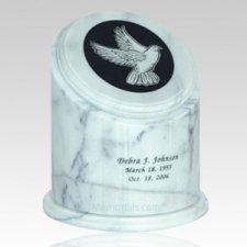 Crown White Marble Urn