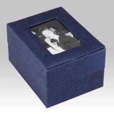 Natural Photo Biodegradable Cremation Urn II