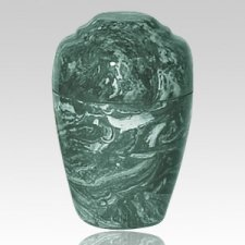 Emerald Marble Pet Cremation Urn