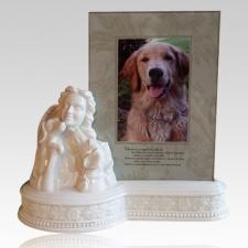 Angel & Dog Urn