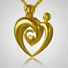 Double Parent Heart Keepsake Pendant II