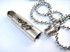 Dragon Bullet Cremation Keychain