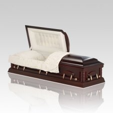 Esther Dark Cherry Wood Casket