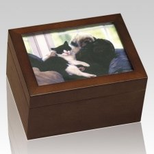 Best Friends Chest Cremation Urn