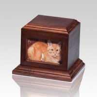 Fireside Pet Cherry Picture Urn - Large