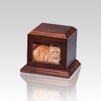 Fireside Pet Cherry Picture Urn - Small