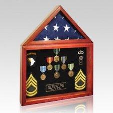 Capitol Flag Veteran Display Case