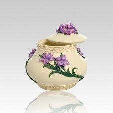 Flowers Keepsake Cremation Urn