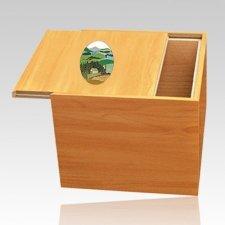 Norwegian Mountain Cremation Urn