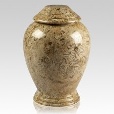 Classic Fossil Cremation Urn