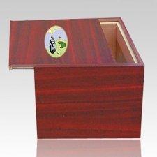 Danish Golf Scene Cremation Urn