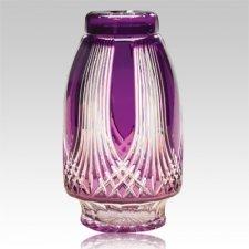 Gothic Glass Cremation Urn
