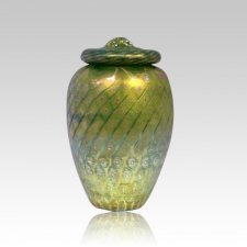 Golden Sunshine Cremation Urn