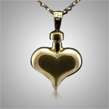 Heart Smooth Keepsake Pendant