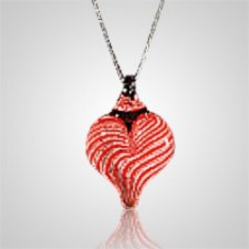 Veloce Heart Cremation Ash Pendant