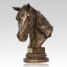 Horse Bust Cremation Urn