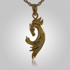 Horse Head Cremation Jewelry II