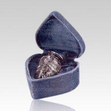 Black Marble Infant Cremation Urn
