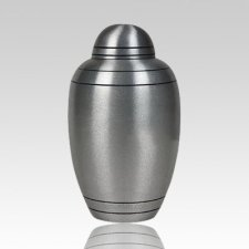 Brushed Alloy Child Cremation Urn