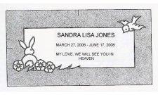Children Granite Grave Markers