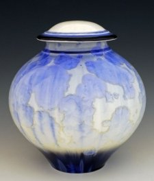 Sky Waters Art Cremation Urn