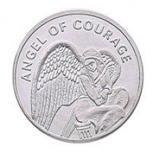 Angel of Courage Keepsake Coins