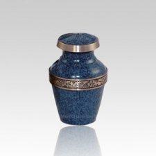 Avalon Blue Small Pet Urn