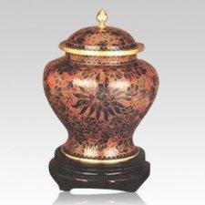 Harvest Cloisonne Cremation Urn