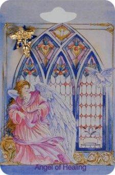 Healing Angel Lapel Pin