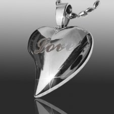 Love Heart Cremation Jewelry