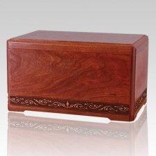 Majesty Wood Cremation Urn