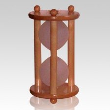 Hourglass Maple Keepsake Urn