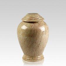 Botticino Classica Marble Medium Cremation Urn