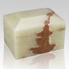 Sky Square Onyx Cremation Urn