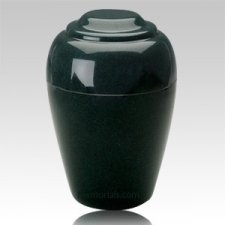 Grecian Sea Holly Green Granite Cremation Urn II