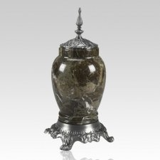 Forest Pewter Marble Medium Urn