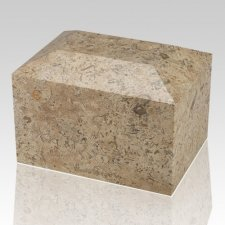 Fossil Square Child Cremation Urn