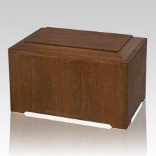 Marquis Walnut Wood Urn