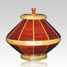 Red River Medium Wood Urn