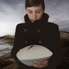 Memento White Biodegradable Urn