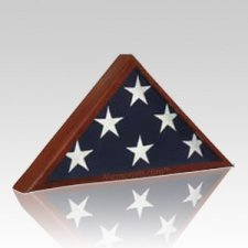Memorial Cherry Flag Display Case